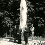 Proslov Bohumila Peroutky při odhalování památníku TGM v Jasenicích | Zdroj: MRV